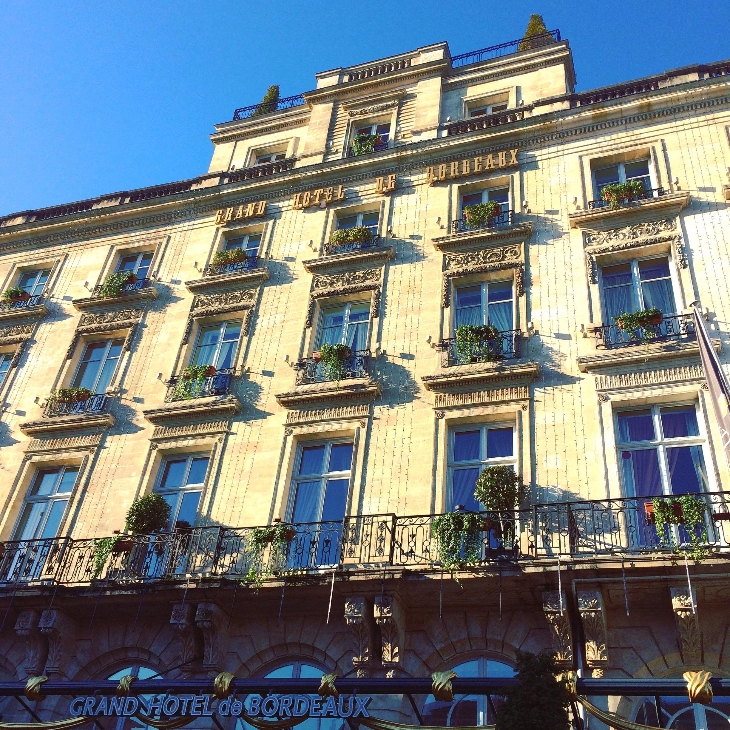 Blog ne le dites a personne facade hotel intercontinental - Les bains de lea bordeaux ...